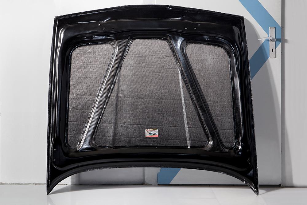 Motorhaube-Streifen-Back