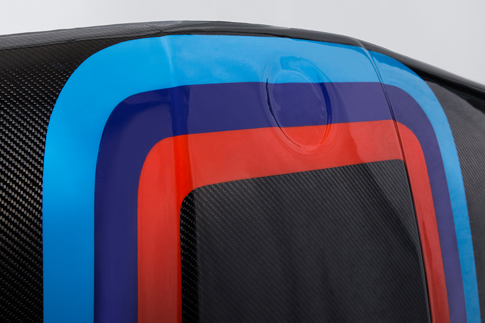 Motorhaube-Streifen-Detail